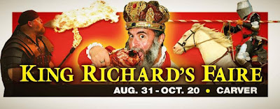 Enter to win a pair of tickets to King Richard's Faire, ends 9/2