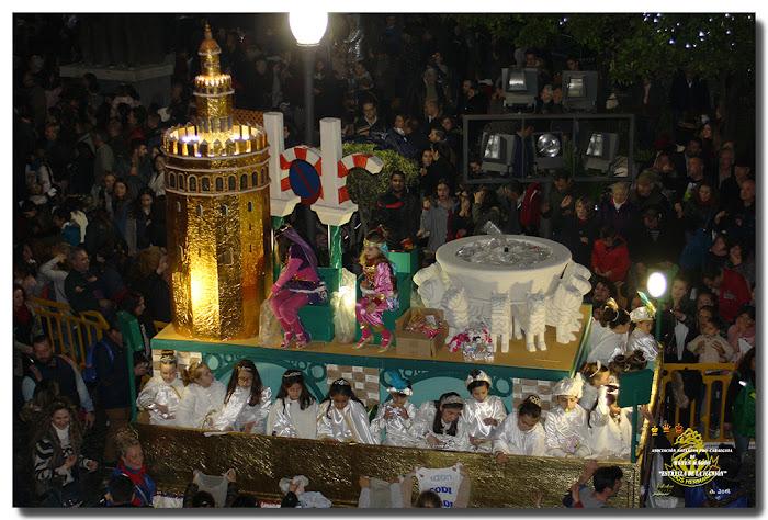 Carroza de los Monumentos de Andalucía