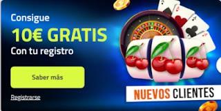 Luckia 10 euros gratis bono Casino