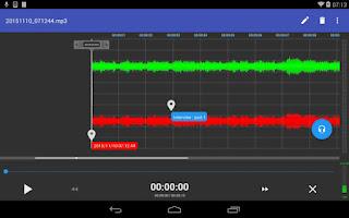 aplikasi perekam suara recforge II