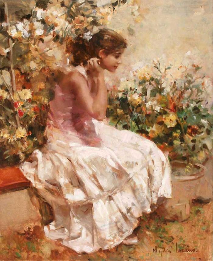 Масляная живопись. Nydia Lozano 13
