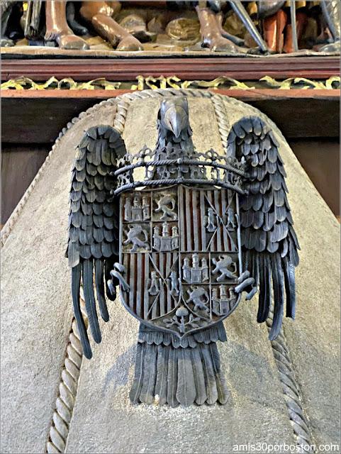 Escudo de Armas de los Reyes Católicos en el Museo Isabella Stewart Gardner