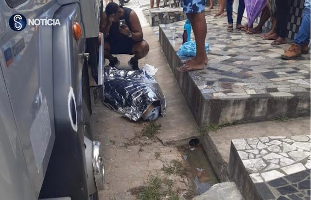 Caminhão atropela e mata idoso em Santo Amaro das Brotas
