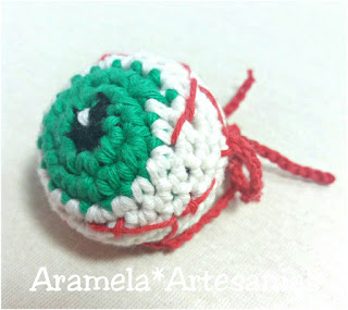 ojos amigurumi lana