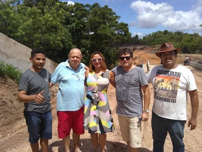 DOMINGO EM AÇÃO - Deputado Zé Gentil faz visita em obra da ponte que liga Pampulha ao Luíza Queiroz