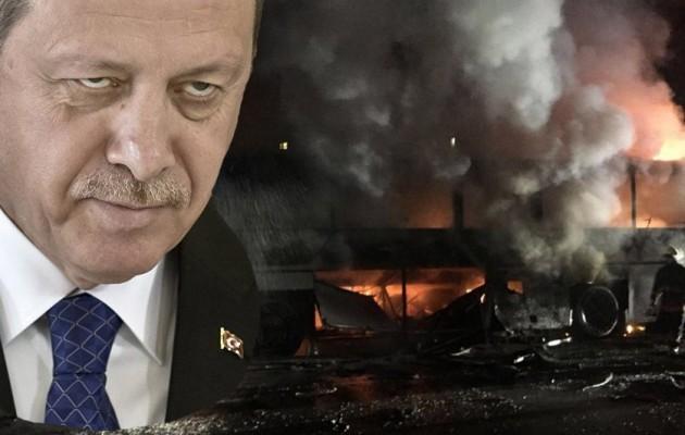 Προβοκάτσια του Ερντογάν η έκρηξη στην Άγκυρα;