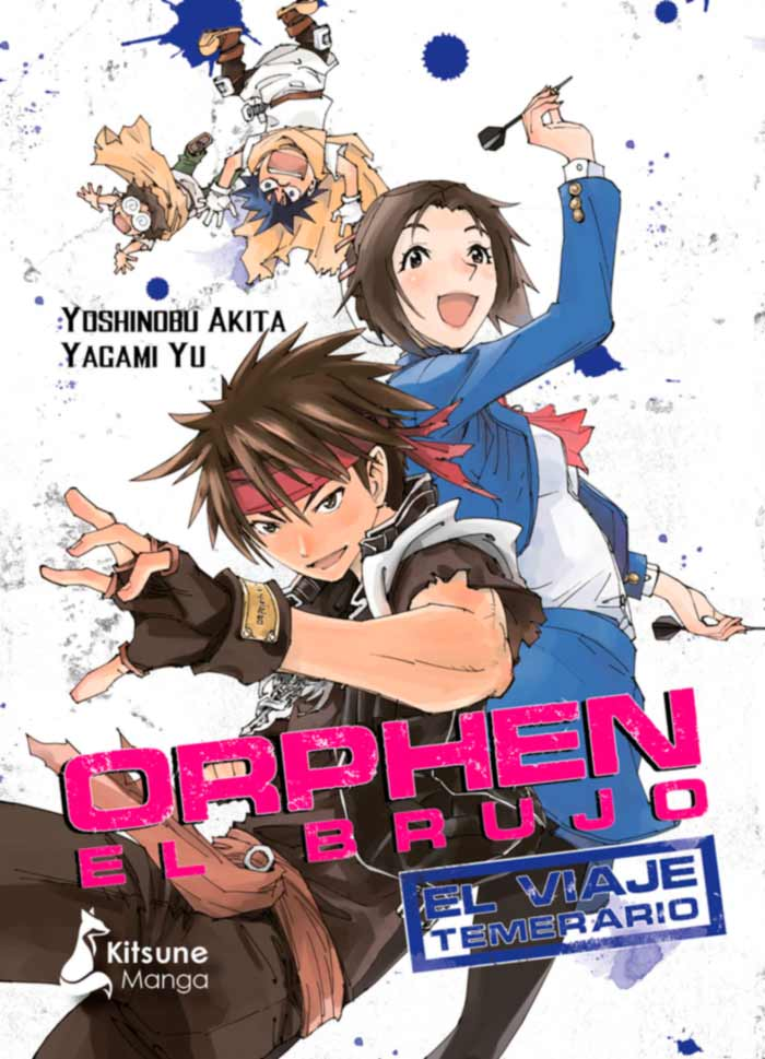 Orphen el brujo: El viaje temerario (Majutsushi Orphen: Mubou-hen) manga - Yoshinobu Akita y Yuu Yagami - Kitsune Books