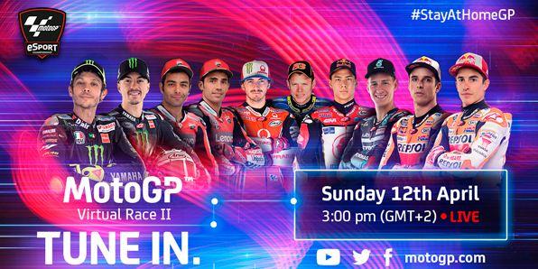 Jadwal MotoGP 2020 Virtual Race 2, Rossi Ikut
