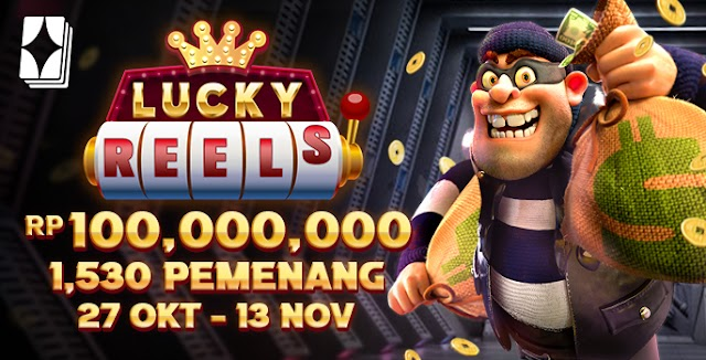 (PROMO!!!) RTG Lucky Reels IDR 100.000.000 untuk 1530 Pemenang - Bengkelhoki