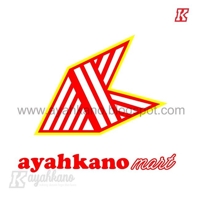 desain logo ayahkanomart