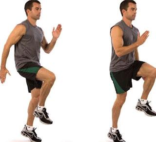 gerakan jogging, gerakan jogging di tempat, olahraga di rumah, olahraga jogging, lari di tempat,lari kecil, exercise, olahraga, health, fitness, work out