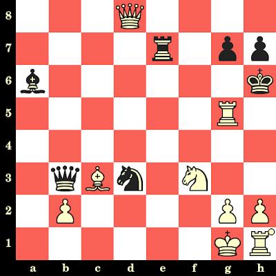 Les Blancs jouent et matent en 4 coups - Mephisto vs Alexander Munninghof, La Haye, 1991