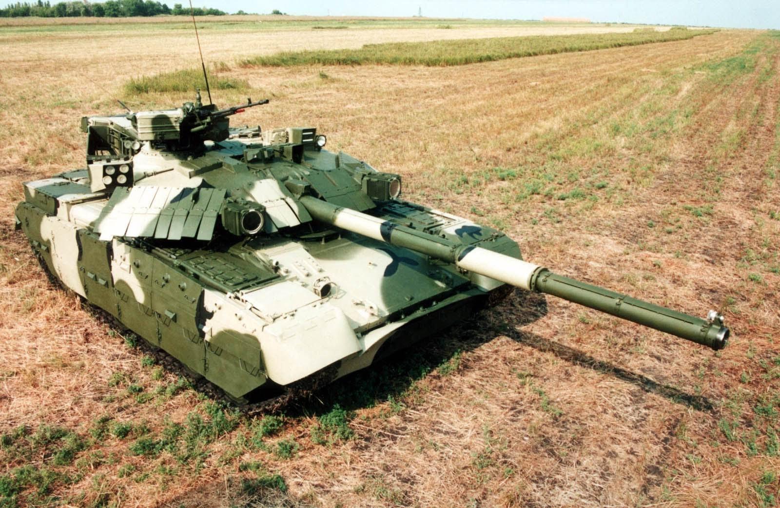 Танк Т-84У Оплот (об'єкт 478ДУ9)