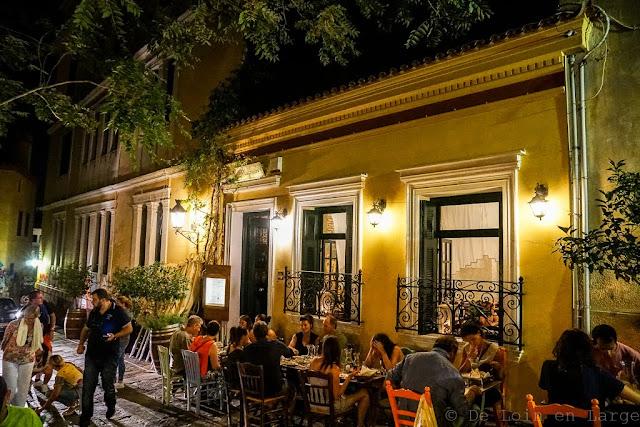 Restaurant To Kafénéion-Plaka-Athènes-Grèce