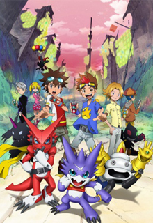 assistir - Digimon Xros Wars: The Young Hunters Who Leapt Through Time - online