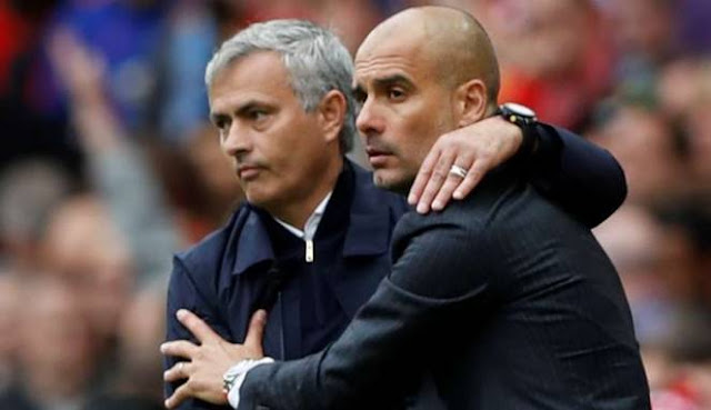 Guardiola Tidak Jadi Minum Wine Bareng Mourinho Usai Derby Manchester