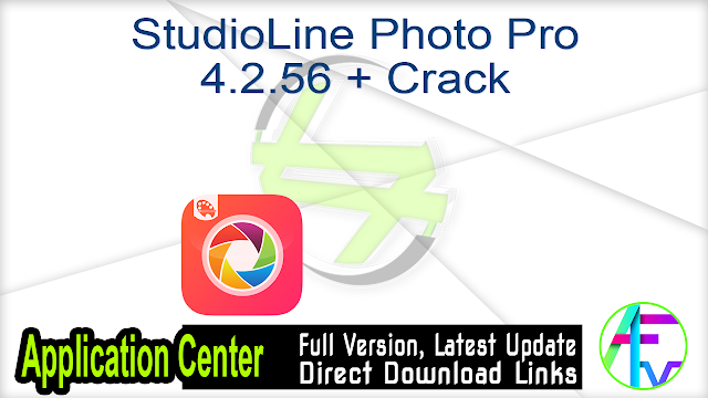 StudioLine Photo Pro 4.2.56 + Crack