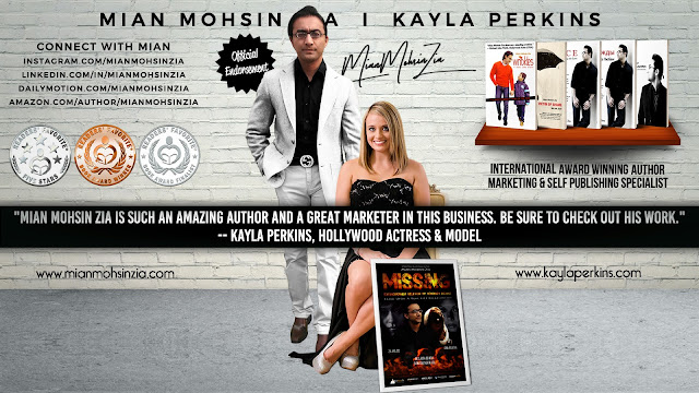 Kayla Perkins, American Actress & Model Endorses Mian Mohsin Zia
