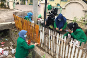 Mahasiswa KKN Covid Unimal Gotong Royong Galakkan Apotek Hidup di Puskesmas