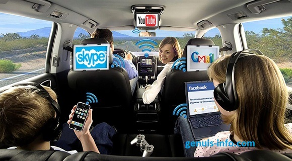 3 طرق تحصل على اتصال انترنت  واي فاي  في سيارتك