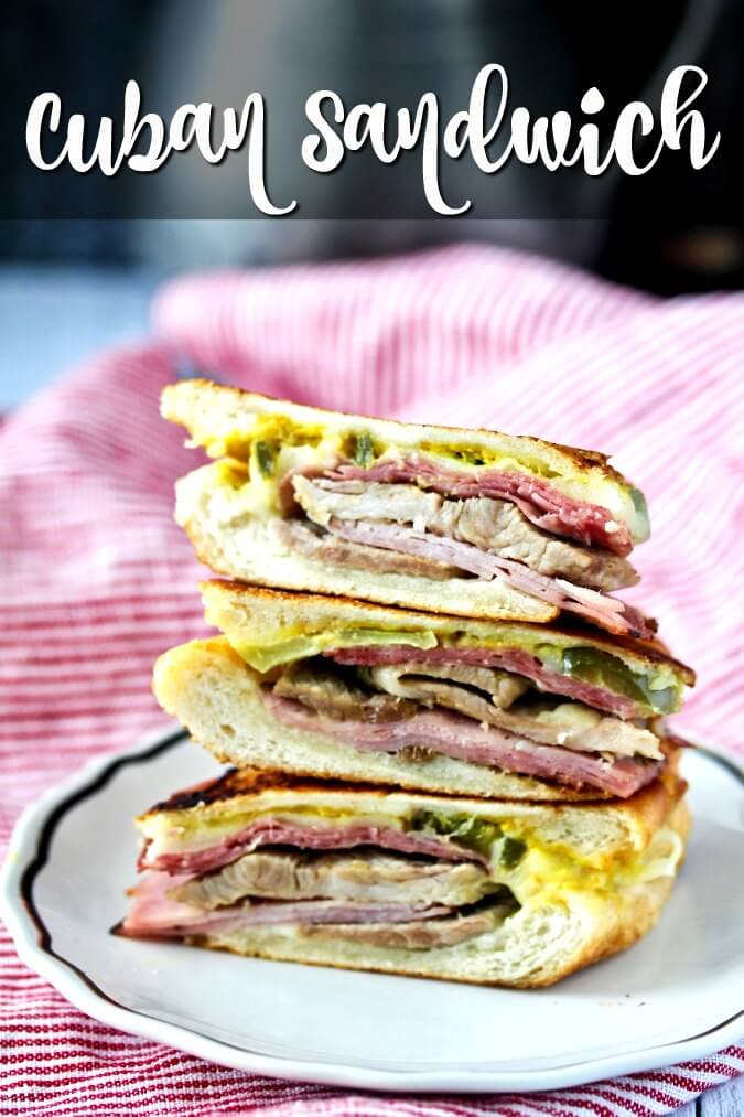 This Cuban Sandwich Recipe reflects the delicious sandwich from Florida, the birthplace of the authentic Cubano.