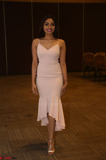 Aishwarya Devan in lovely Light Pink Sleeveless Gown 070.JPG