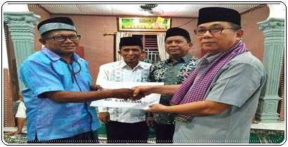 Alwis Pimpin Tim Ramadan Khusus Pemko Padang, Kunjungi Masjid Baitul Ma'wa