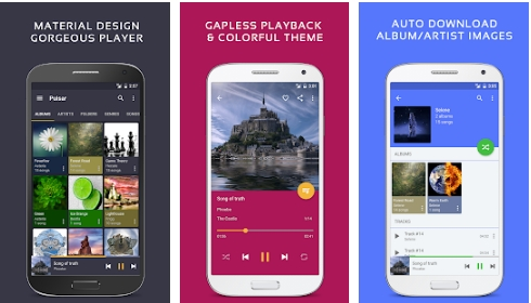 Pulsar Music Player Pro apk android