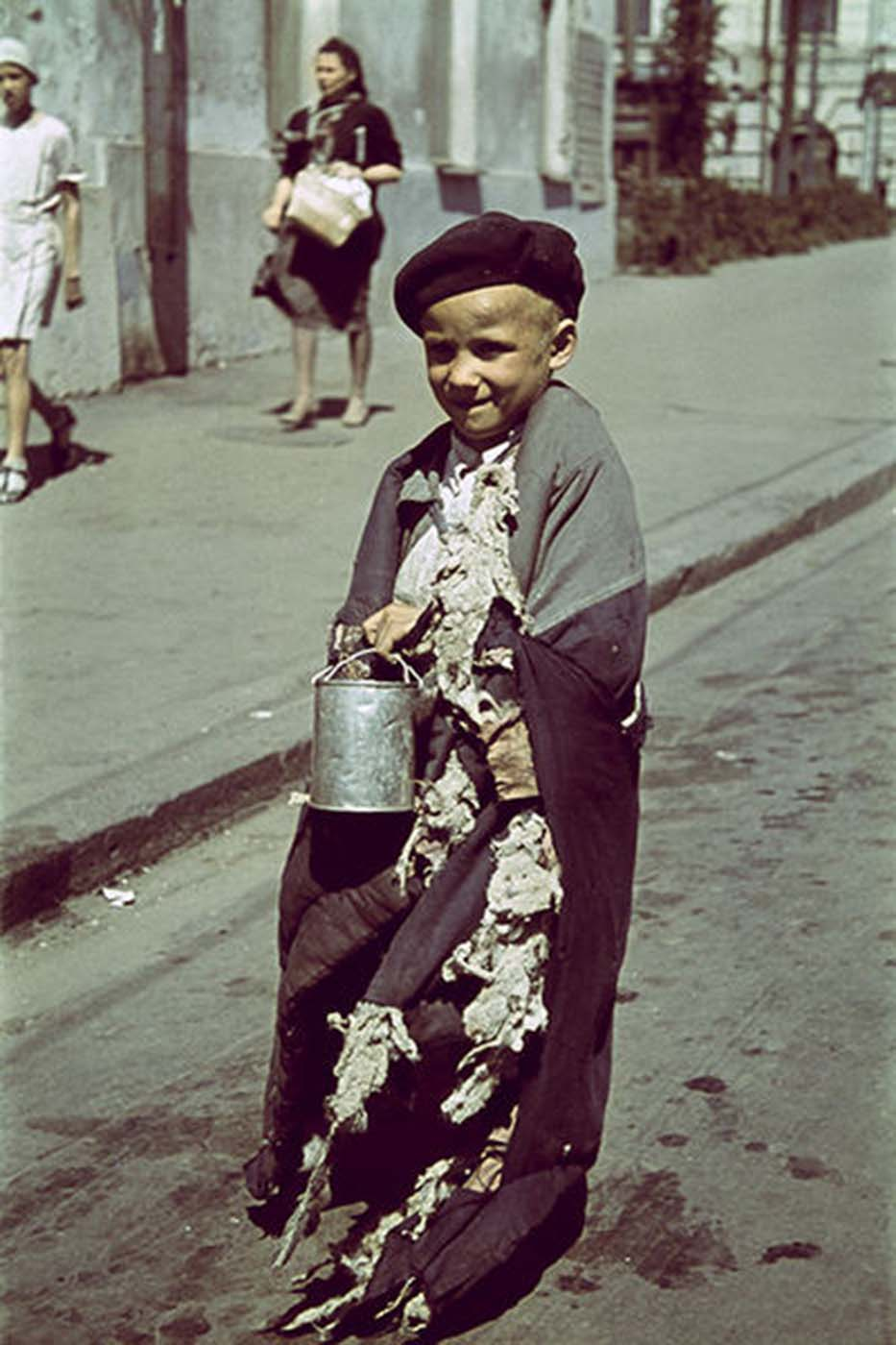 Boy, Kharkov, Ukraine, Oct-Nov 1941.