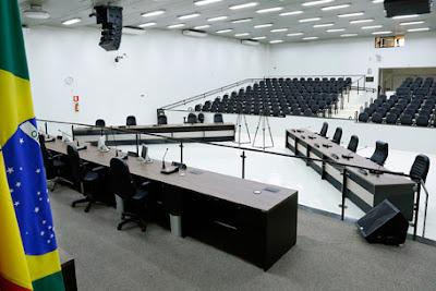 Plenário da Câmara Municipal de Maringá – Foto: CMM