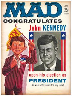 MAD revista humor Kenedy 1961
