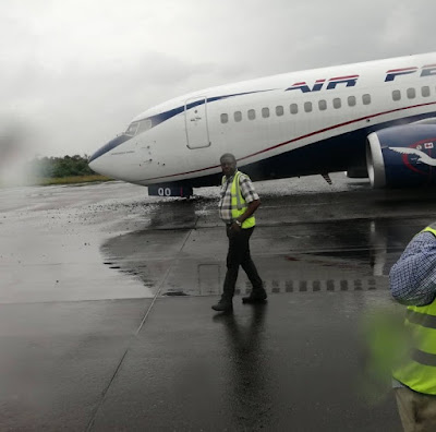 Video: See How Passengers Aboard Air Peace Plane Escaped Death As Brave Pilot Averts Plane Crash In Lagos But This Happens