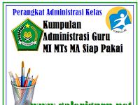 Perangkat Administrasi Guru MA, MTs MI Lengkap Kurikulum 2013 | Galeri Guru