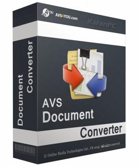 AVS Document Converter 2.3.2.233 Free
