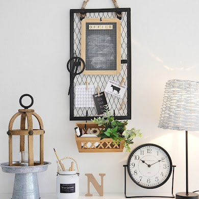 DIY Farmhouse Office Decor + New Printables