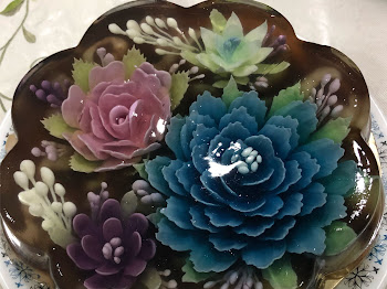3D Flower Jelly Cake