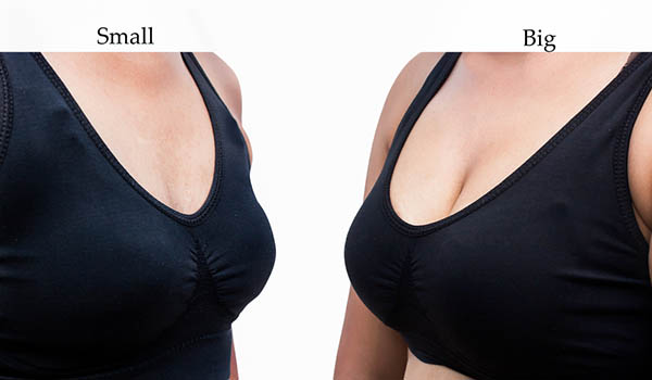 Every woman can grow their breasts the same way