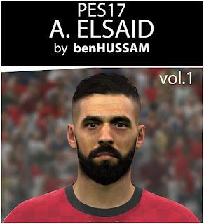 PES 2017 Faces Abdallah Said by BenHussam