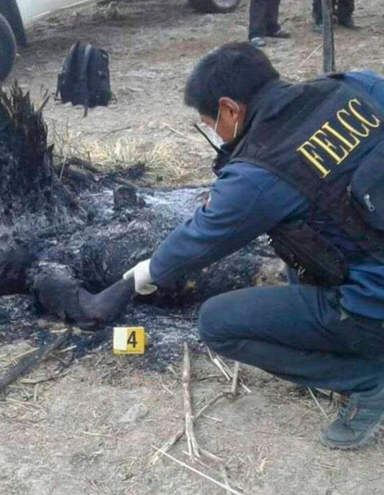 Menor de 15 años mata a su padre e incinera el cuerpo en una comunidad cercana a Villazón