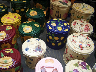 Image: Painted pails, by Monica Arellano-Ongpin on Flickr