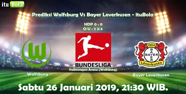 Prediksi Wolfsburg Vs Bayer Leverkusen - ituBola