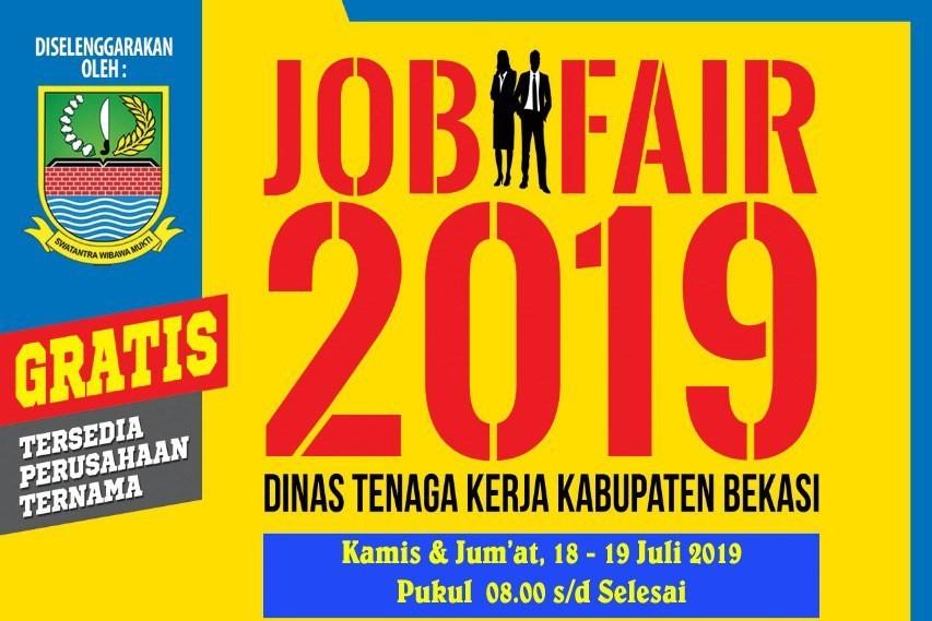 Job Fair Disnaker Bekasi – Juli 2019