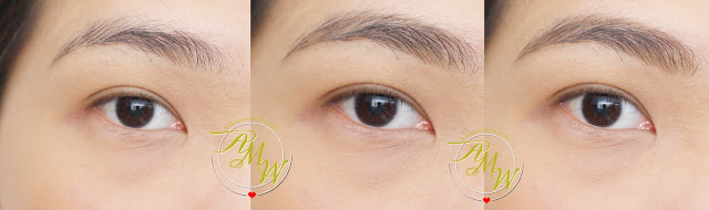 a photo after using Maybelline Fashion Brow Duo Shaper Light Brown