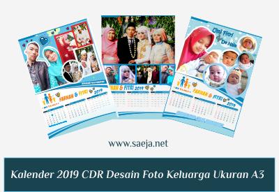 Populer 40+ Desain Kalender Keluarga Cdr