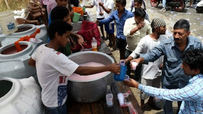 Gelombang panas di India