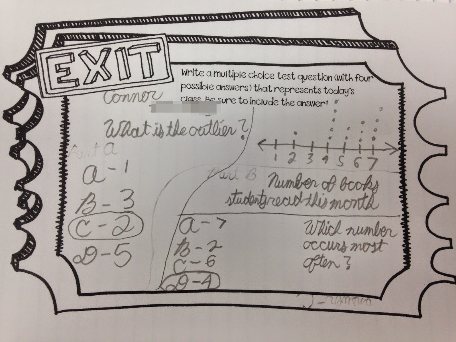 Musings From The Middle School Let S Talk Exit Tickets