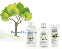 Logo OMIA operazione cashback 2 prodotti, vinci voucher EcoBnb, contribuisci a piantare 1 albero