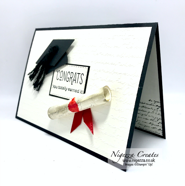 Nigezza Creates with Stampin' Up! and Many Mates a graduation Card
