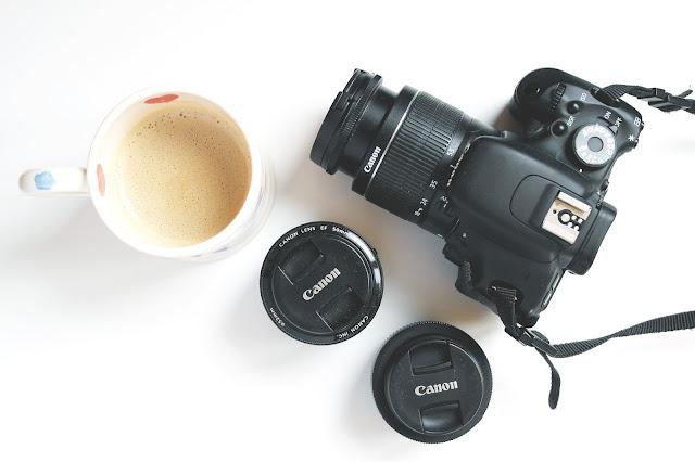 Canon DSLR, Canon Lenses, 24mm Lens, 50mm lens, nifty fifty lens, Coffee, Mug, Emma Bridgewater,