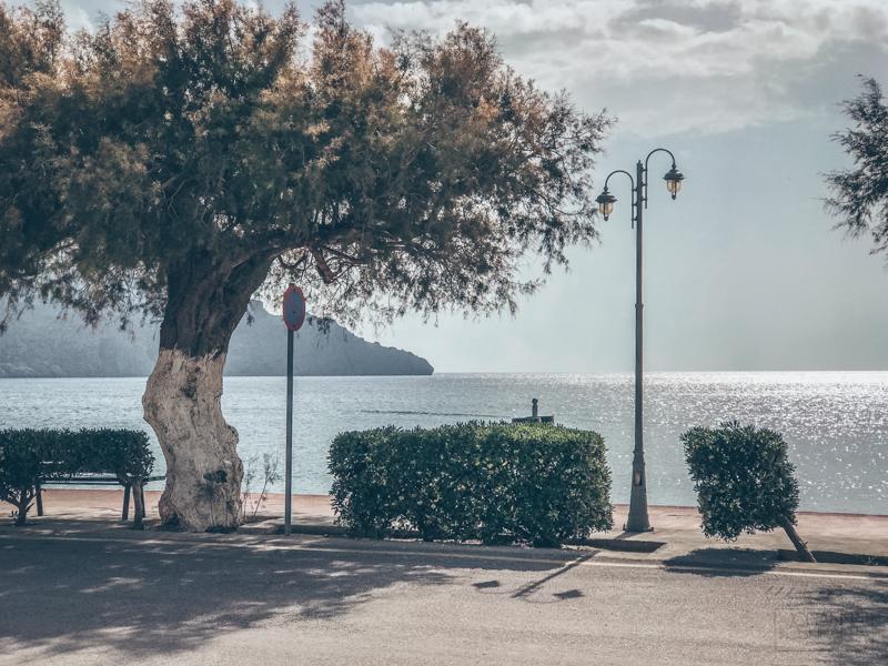 Plakias, Kreeta - pikkuinen kylä